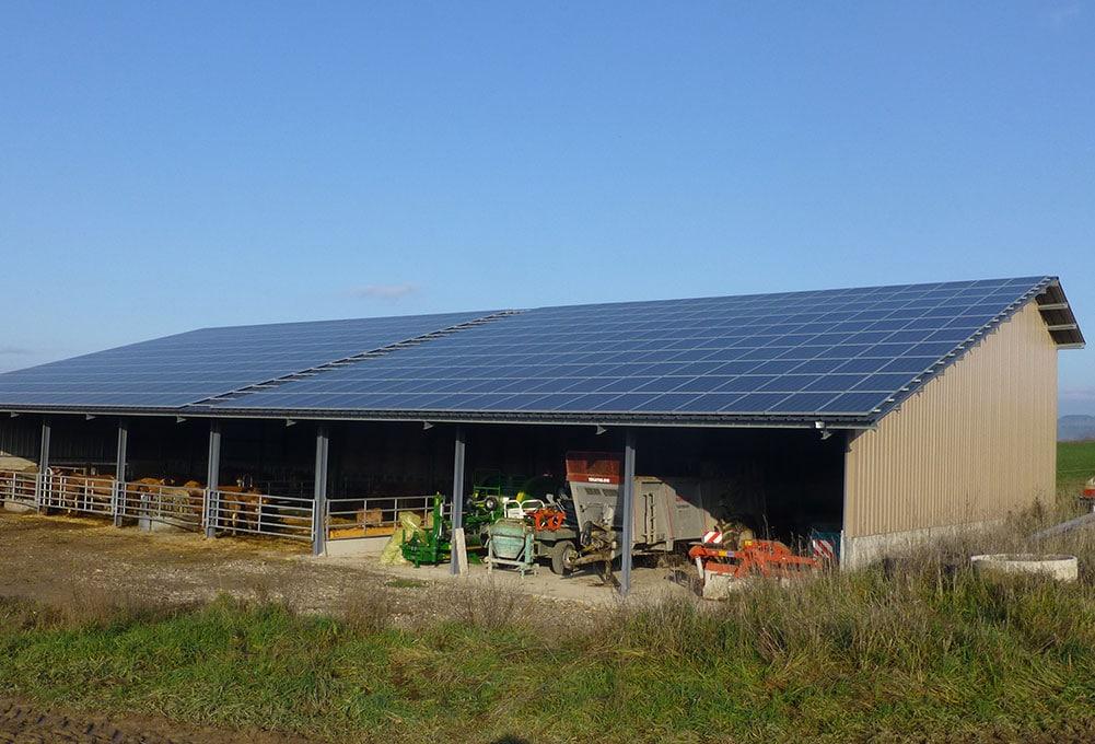panneau solaire exploitation agricole