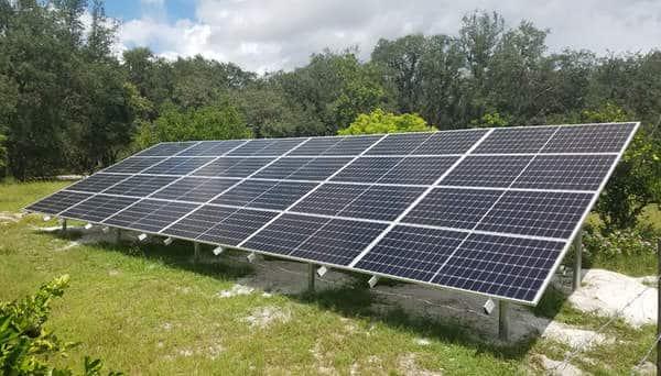Combien de panneau solaire pour 9 kw